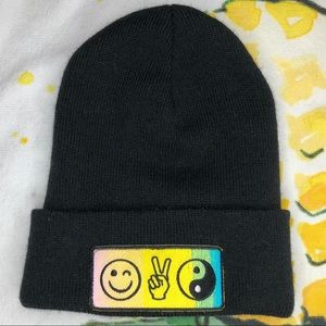 Urban outfitters patch beanie